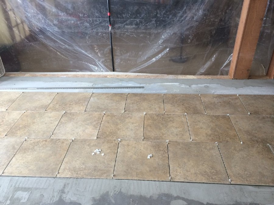Laying Tile Floors